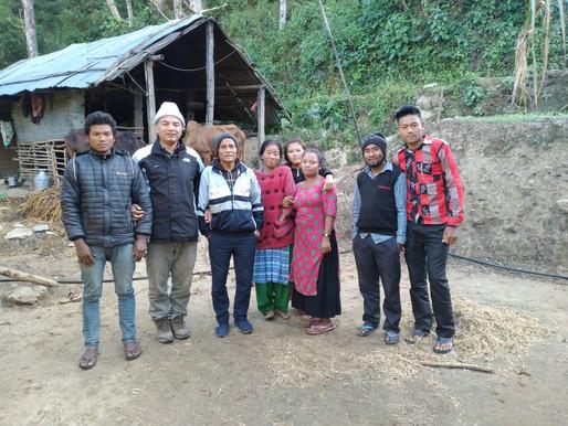 Helsing frå Henry i Nepal