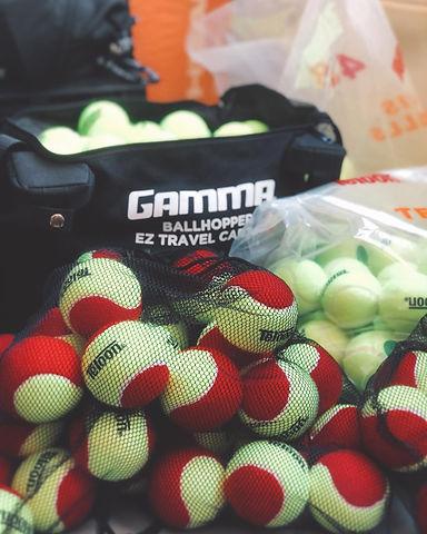 January 26th, Gamma with tennis balls.jp