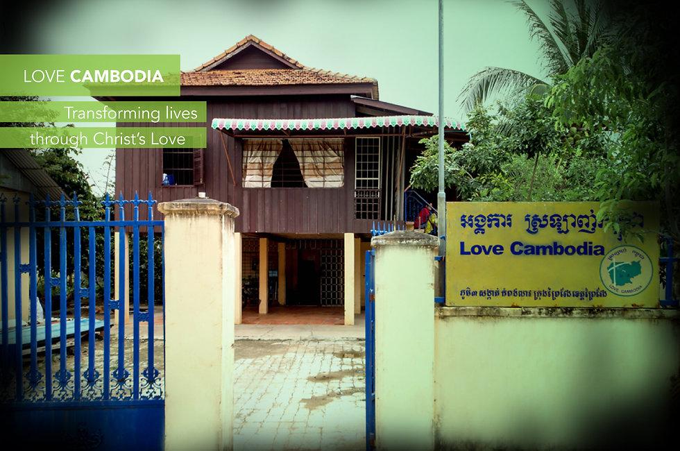 Love Cambodia. Transforming Lives.