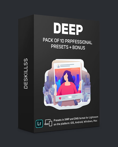 Deep - pack of 10 professional presets + bonus