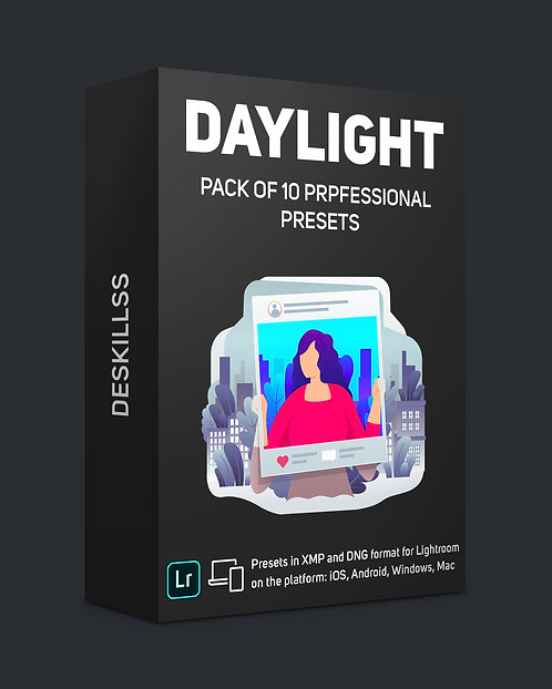 Daylight - pack of 10 professional presets