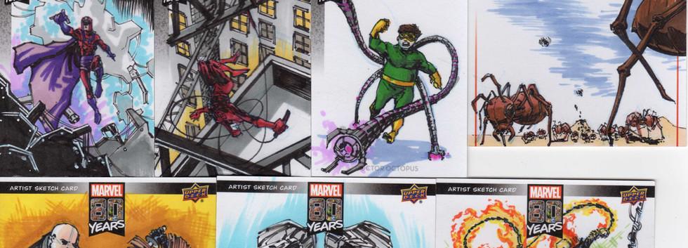 Upper Deck Marvel 80th