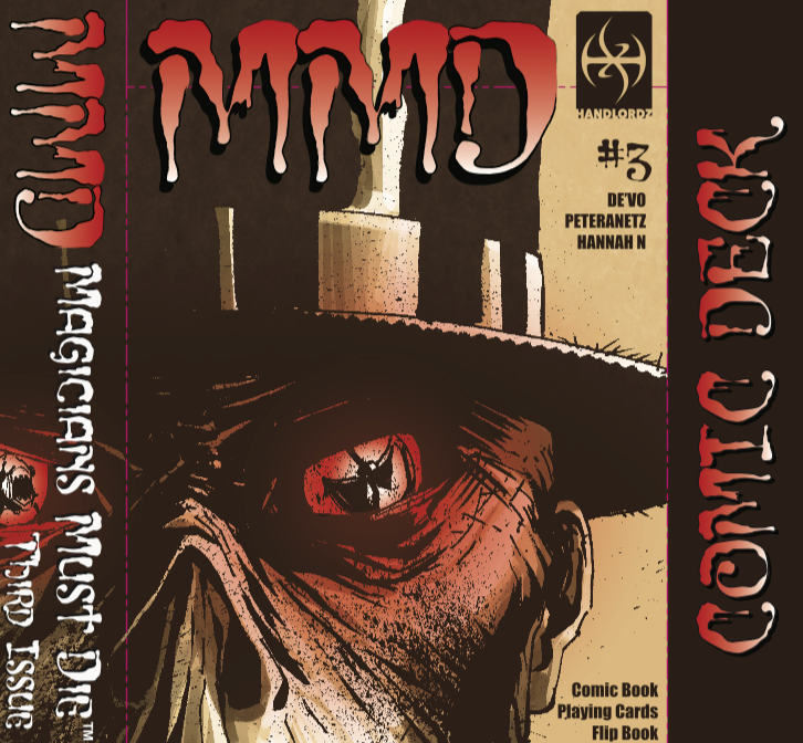 Magicians Must Die Issue 3 Cover