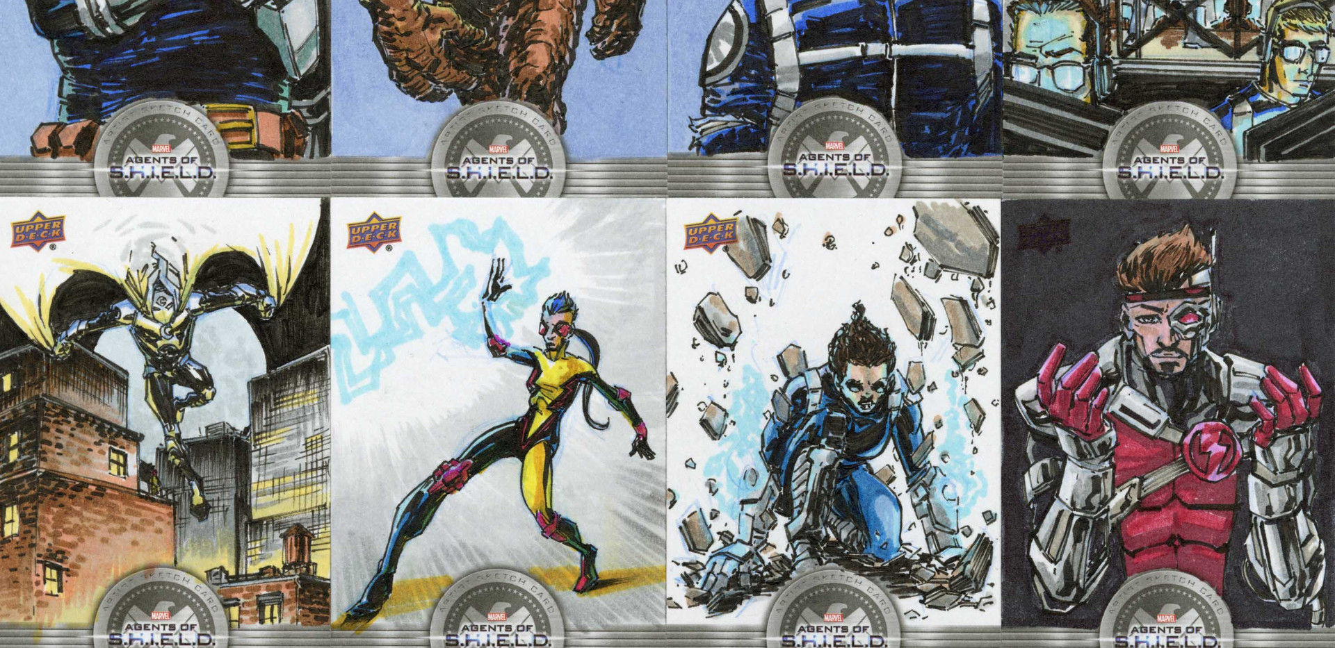 Upper Deck Agents of Shield