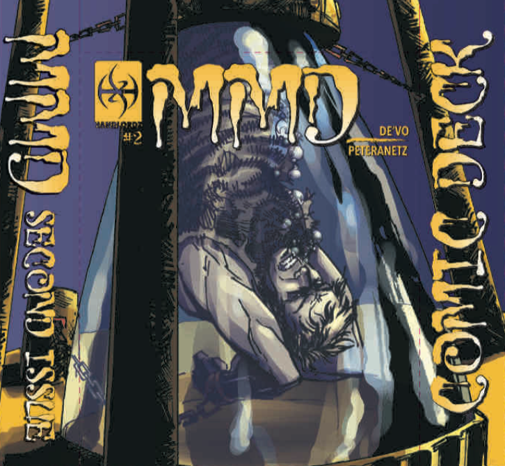 Magicians Must Die Issue 2 Cover