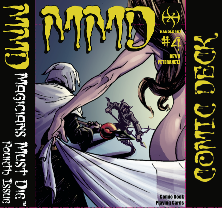 Magicians Must Die Issue 4 Cover