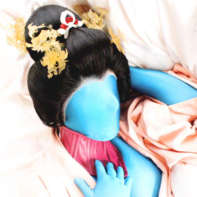 Ladonna Blue Zentai Geisha