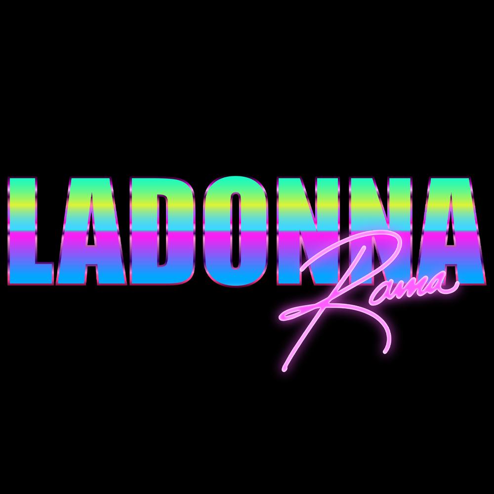 Ladonna Rama Neon Acid Logo