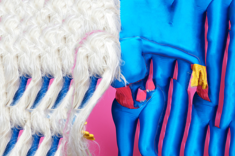 Ladonna Rama Zentai Suit Blue Bow