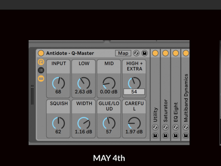 Free Ableton Mastering Plug-in from Antidote Audio