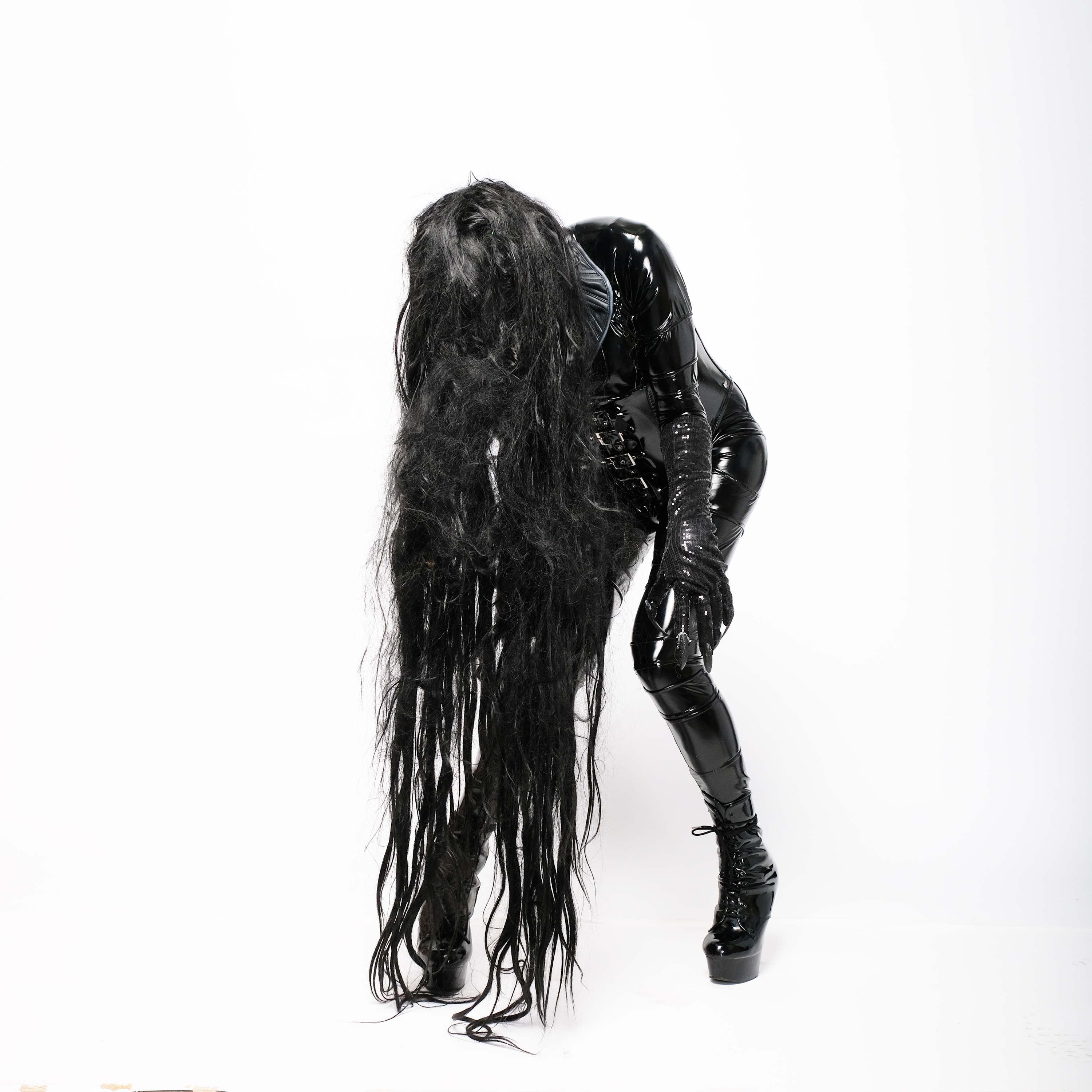 Ladonna Rama Black PVC Latex Fetish sadako