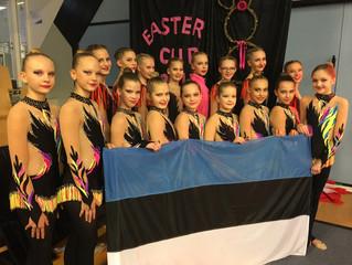 """Ülenurme juunioriklassi rühm osales rahvusvahelisel rühmvõimlemisvõistlusel """"Easter Cup"""""""
