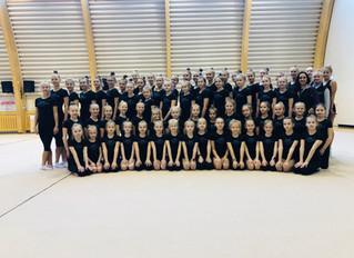 Ülenurme võimlejaid ja treenereid koolitas rühmvõimlemise maailmameistrite treener Soomest