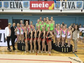 2017 a. Elva lahtised meistrivõistlused rühmvõimlemises!