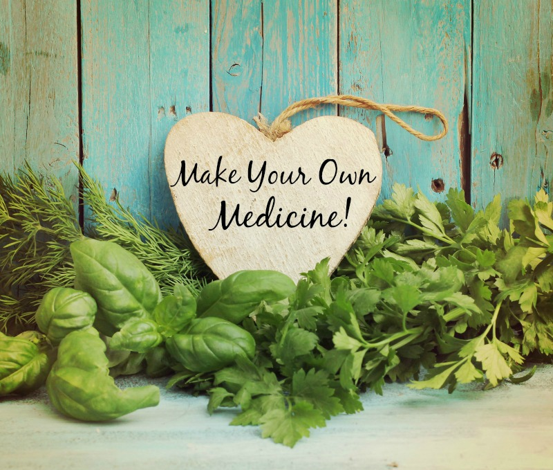 make your own medicine