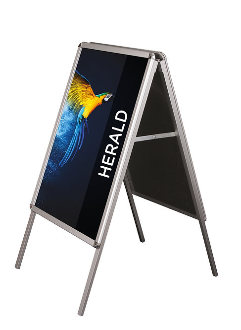 HERALD OUTDOOR A-FRAME SIGN