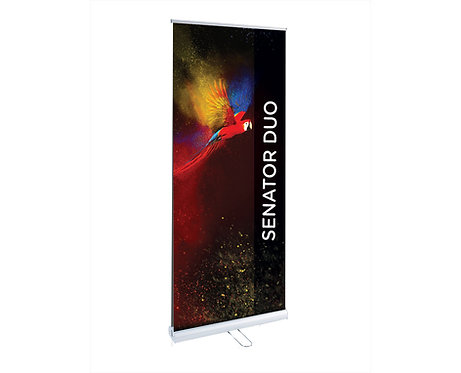 Senator Duo Double Sided Roller Banner 850mm-1000mm