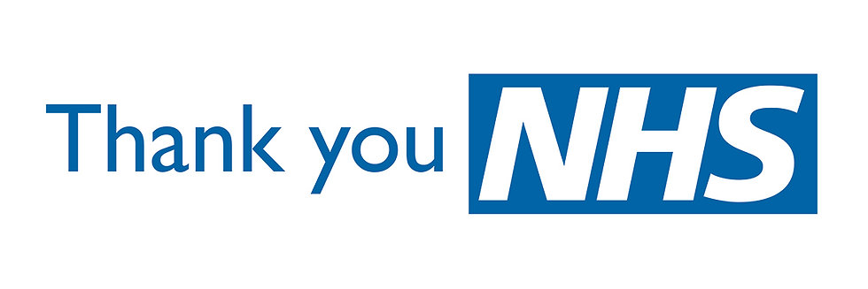 THANK YOU NHS BLUE BANNER