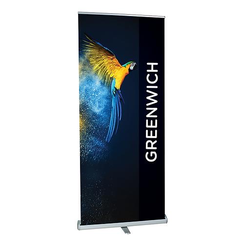 GREENWICH Premium Roller Banner 600mm - 1500mm Width