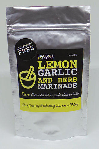 Lemon, Garlic & Herb Marinade