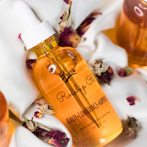Grade A Cold-Pressed Rosehip oil