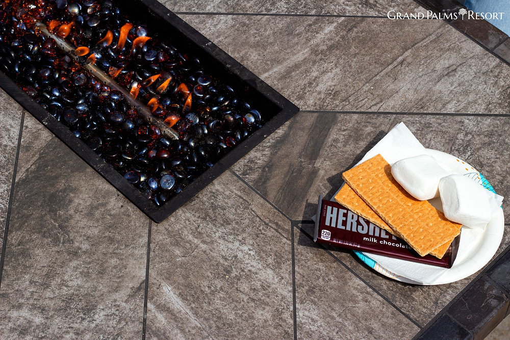 Enjoy our S'more Kits on your Myrtle Beach Vacation with Grand Palms Resort (formerly Plantation Resort)