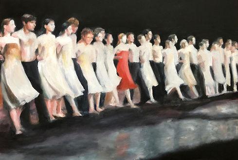 Curtain Call  oil on canvas 41x 61 cm.jp