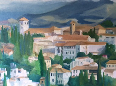 Detail- The Albayczin, Granada , Spain.j