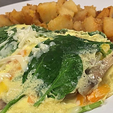 The Very Veggie Omelet