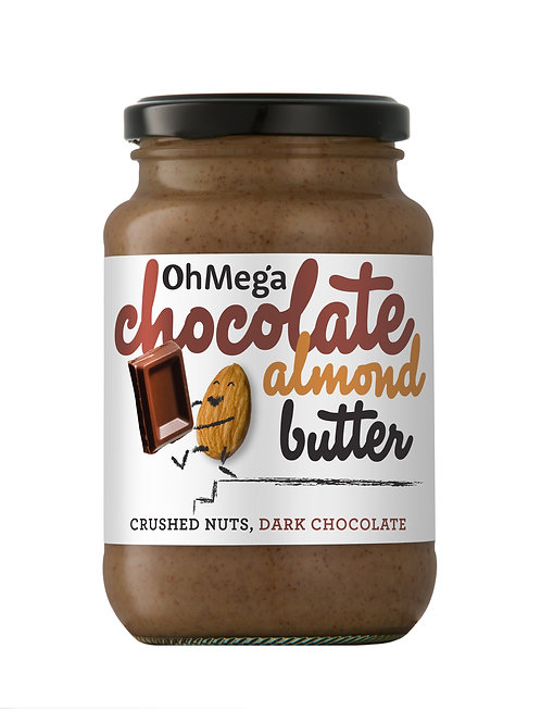Oh Mega Chocolate Almond Nut Butter