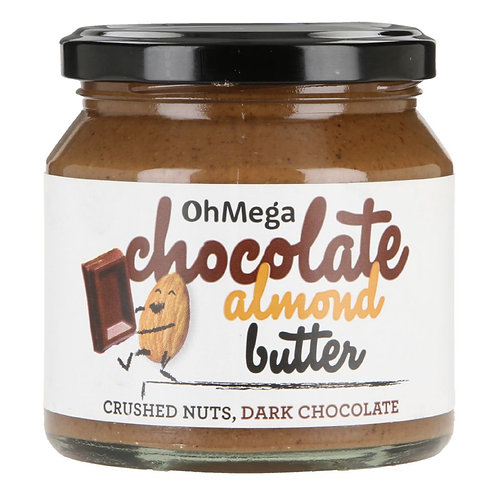 Oh Mega Chocolate Almond Nut Butter 250g
