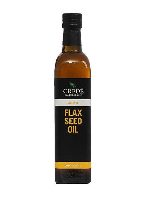 Crede Organic Flaxseed Oil 500ml