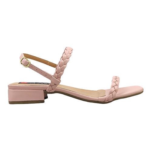 Sandália 2 Tiras Trança Candy