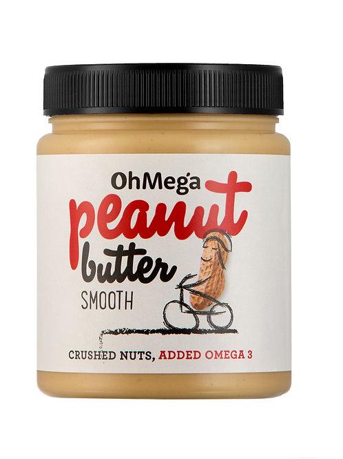 Oh Mega Peanut Butter Smooth 1kg