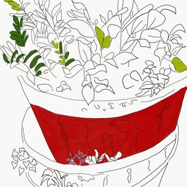 Plant Pot Pile