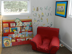 Young Twos: Reading Nook