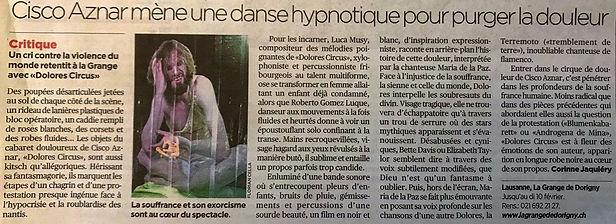 Dolores Circus Luca Musy