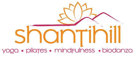 Shantihill Logo yoga pilates midfulness.