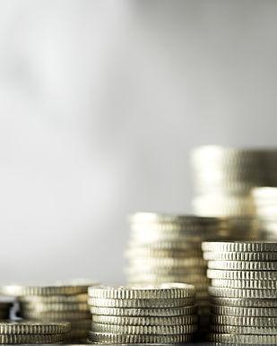 Stakke af mønter