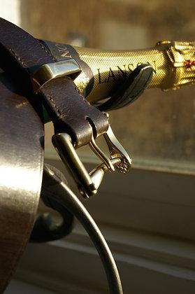 Marshalay bridle leather belt
