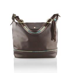 Bramham Handbag Brown Tweed - Version 2