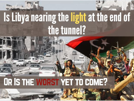 Simplifying The Libyan Conflict: Has The War Finally Come To  An End, Or Has It Just Begun?