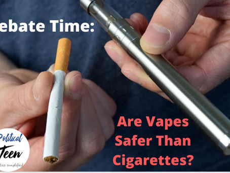 Vaping Examined: The truth behind their 'dangers.'