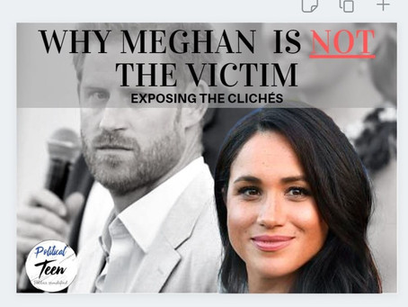 Is Meghan the real victim? A lesson for life