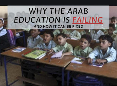Critical View Of Arab Education: A student's perspective
