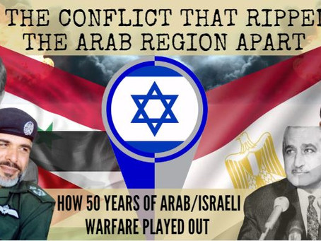50 Years In 5 Minutes: The Full History Of Arab/ Israeli Conflict (Part 1)