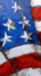 American Flag Modern Art