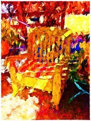 My Yellow Chair Alamgordo