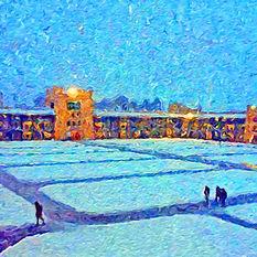 The Quad in Winter