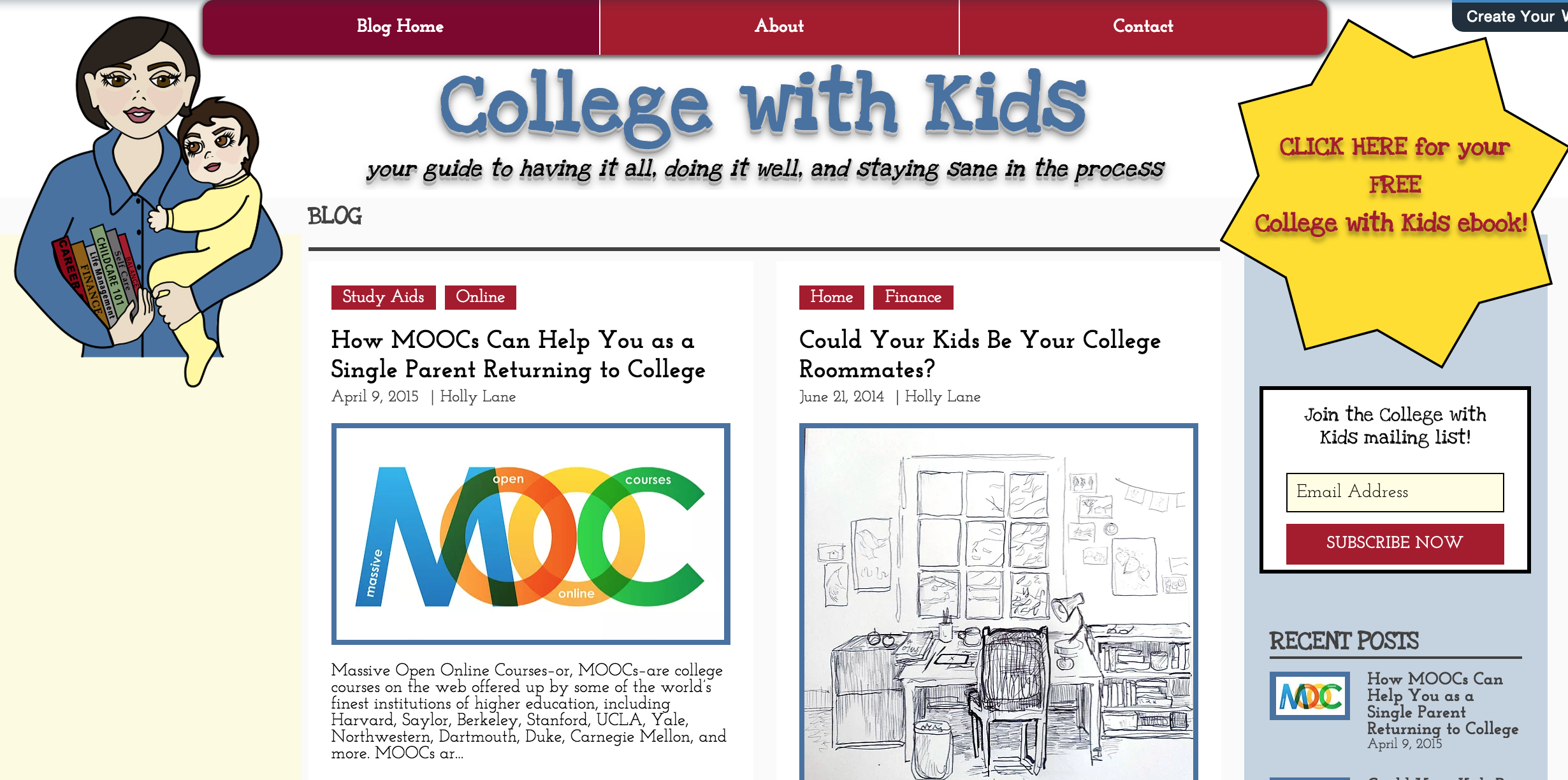 College with Kids